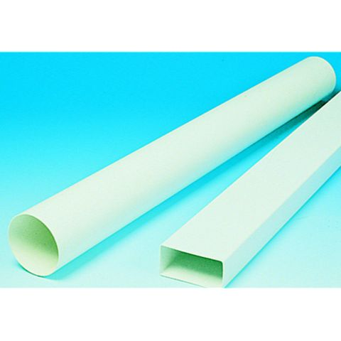 Manrose White Ducting Round Pipe (W)350mm