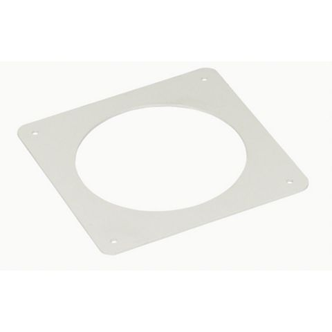 Manrose Round Wall Plate (H)175mm (W)175mm