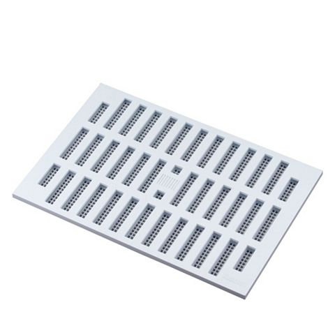 Manrose White Adjustable Vent (H)152mm (W)229mm