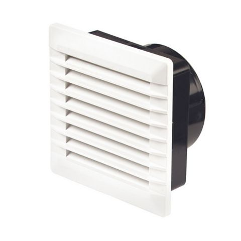 Manrose White External Louvered Vent
