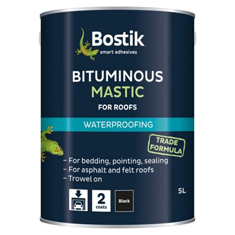 Bostik Waterproofing Bituminous Mastic, 5000ml