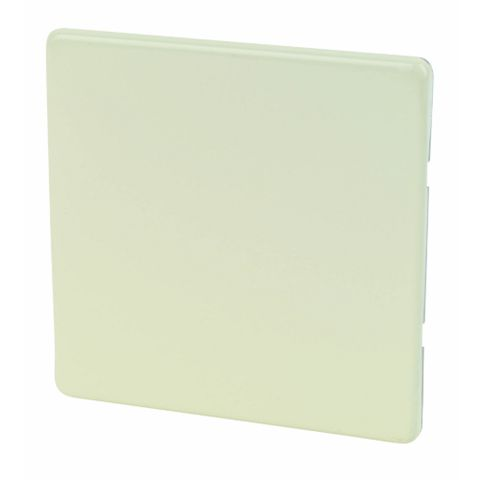 Varilight 1-Gang White Chocolate Blanking Plate