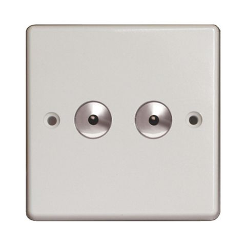 Varilight 2-Gang 1-Way Dimmer Switch