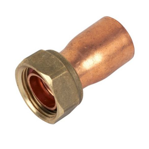 Endex End Feed Straight Tap Connector (Dia)22 mm