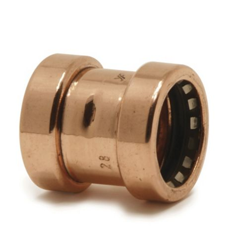 Tectite Sprint Push Fit Pipe Coupler (Dia)28 mm