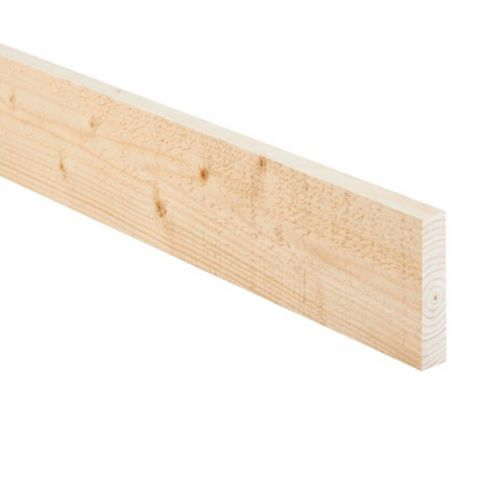 Rough Sawn Timber Kiln Dried (T)22mm (W)75mm (L)2400mm
