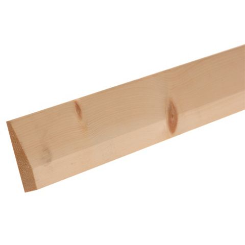 Chamfered Skirting (L)2400mm (W)94mm (T)15mm