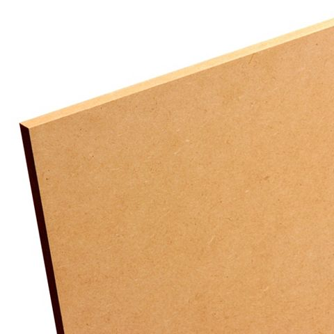 MDF Board (L)1220mm (W)606mm (Th)9mm Pack 4