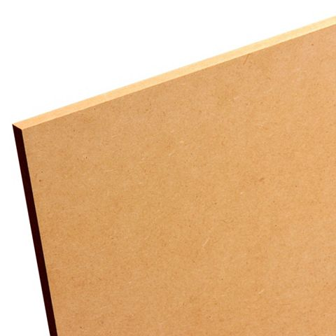 MDF Board (L)1220mm (W)606mm (Th)12mm Pack 3