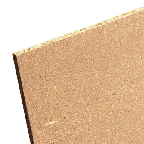 Chipboard Sheet (Th)18mm (W)607mm (L)1220mm Pack 2