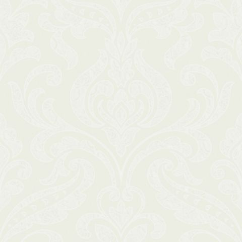 Merletto Damask Trail Wallpaper