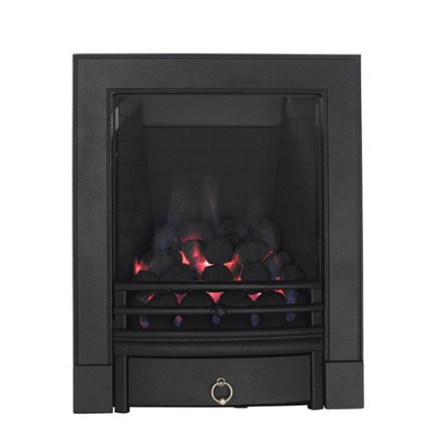 Focal Point Soho Full Depth Black Manual Control Inset Gas Fire