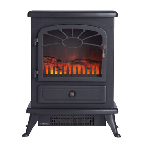 Es2000 Black Freestanding Electric Stove