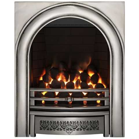 Arch Remote Control Inset Gas Fire