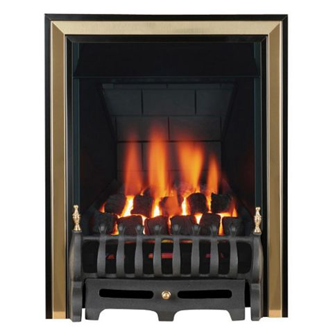 Classic Black Manual Control Inset Gas Fire