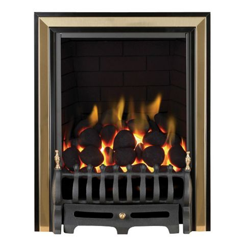 Focal Point Classic Full Depth Black Manual Control Inset Gas Fire