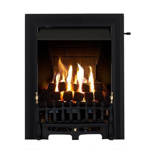 Blenheim Black Slide Control Inset Gas Fire