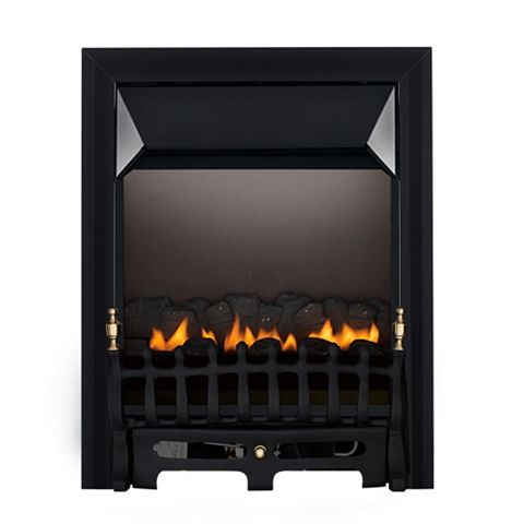 Blenheim Flue Less Black Manual Control Inset Gas Fire