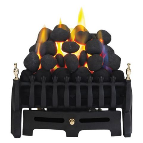 Blenheim Black Manual Control Inset Gas Fire