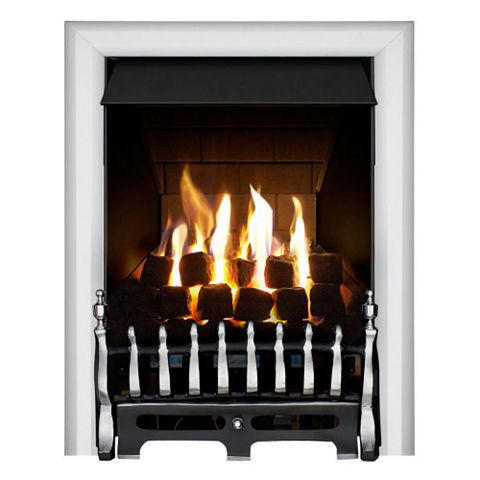 Focal Point Blenheim Black Manual Control Inset Gas Fire