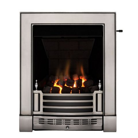 Focal Point Finsbury Multi Flue Black Slide Control Inset Gas Fire