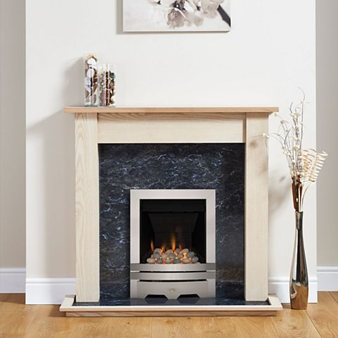 Focal Point Lulworth Manual Control Inset Gas Fire Suite