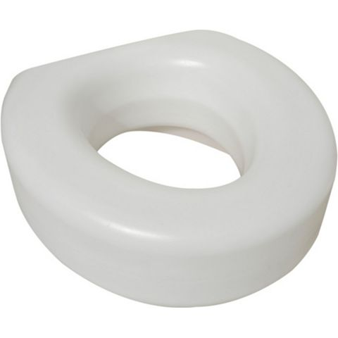 Active Living White Toilet Seat