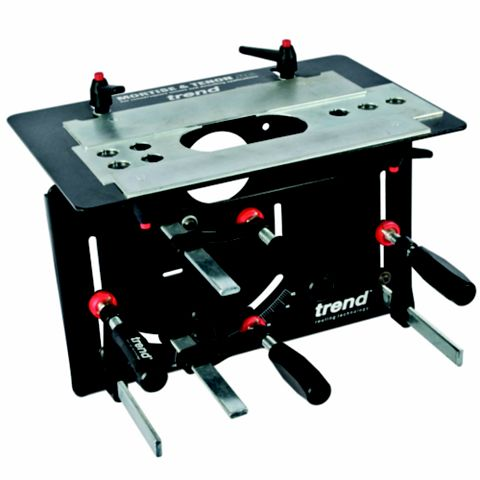 Trend Steel Mortise & Tenon Jig (W)305mm (L)250mm