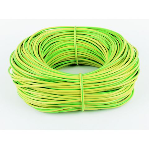 4mm Green & Yellow Sleeving