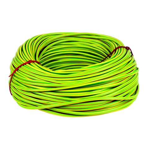 6mm CED Green & Yellow Sleeving