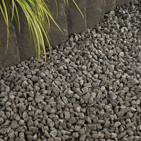 Decorative Stone Chippings Midnight Blue, 800 kg