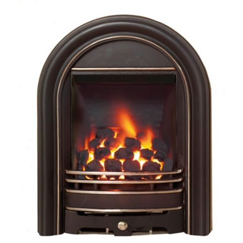 Be Modern Everett Black Inset Gas Fire