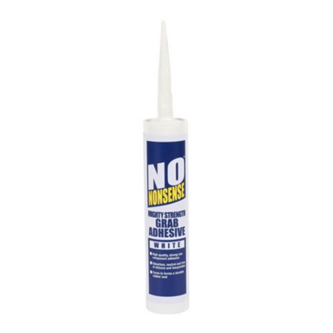 No Nonsense Mighty Strength Solvent Free Grab Adhesive