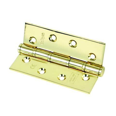 Eclipse Electro Brass Washered Hinge, Pack of 2