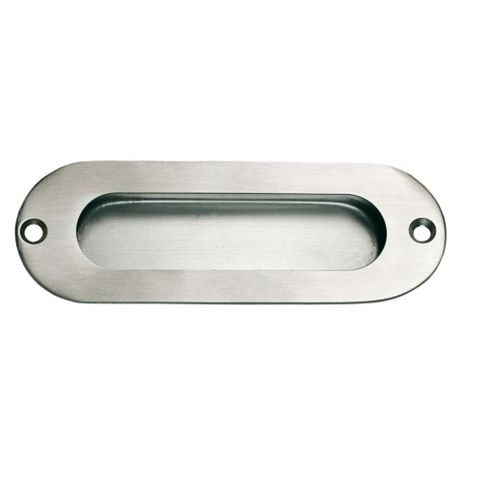 Stainless Steel Effect Straight Pull (L)120mm