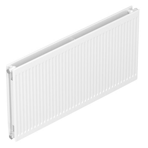 Barlo Round Top Type 21 Double Plus Panel Radiator, (H)600 (W)700mm