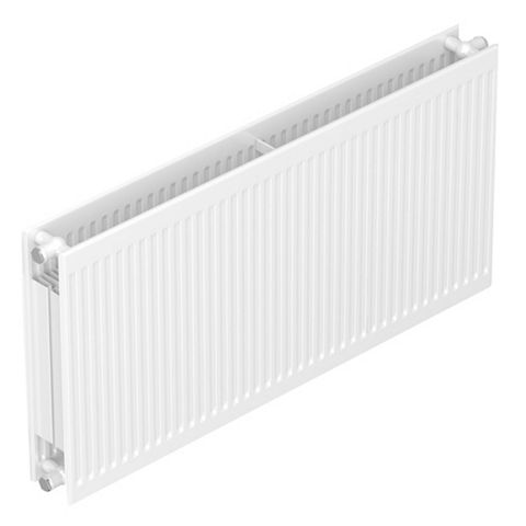 Barlo Round Top Type 22 Double Panel Radiator, (H)600 (W)400mm