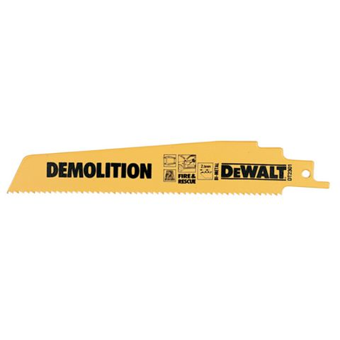 DeWalt Reciprocating Saw Blade (L)152mm, Pack of 5