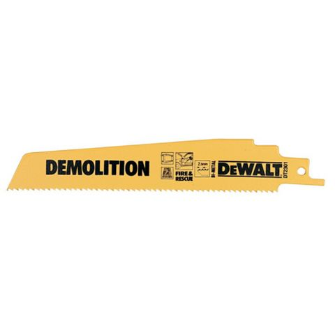 DeWalt Reciprocating Saw Blade (L)228mm Of 5