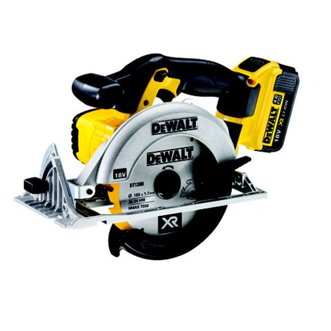 DeWalt 18V 165mm Cordless Circular Saw DCS391M2-GB