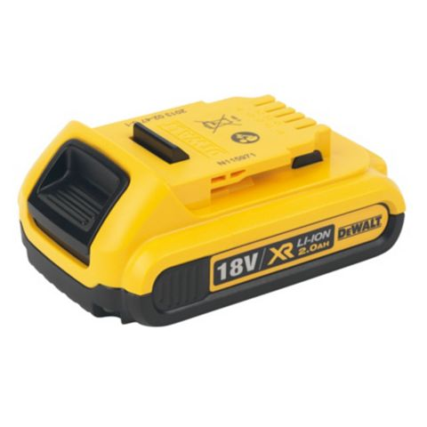 DeWalt 18 V Li-Ion 2 Ah Battery