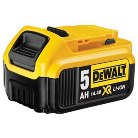 DeWalt 14.4 V Li-Ion 5.0 Ah Battery Of 1