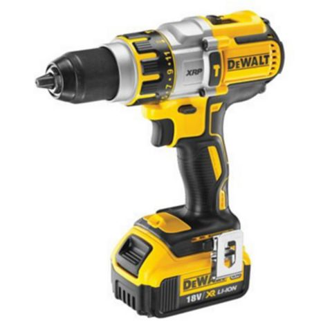DeWalt Li-Ion Cordless Combi Drill & SDS Plus Drill 2 x Batteries Included DCK288M2T-GB