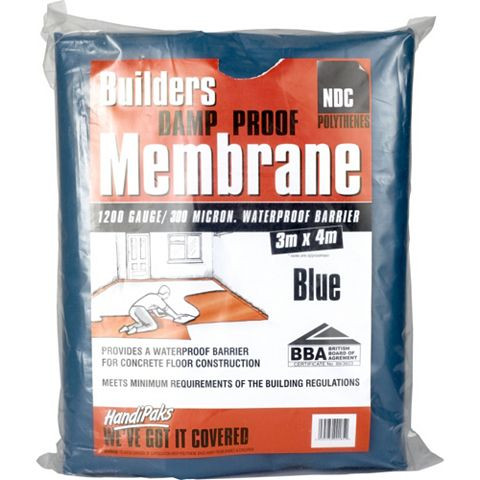 NDC Blue Damp Proof Membrane 1200