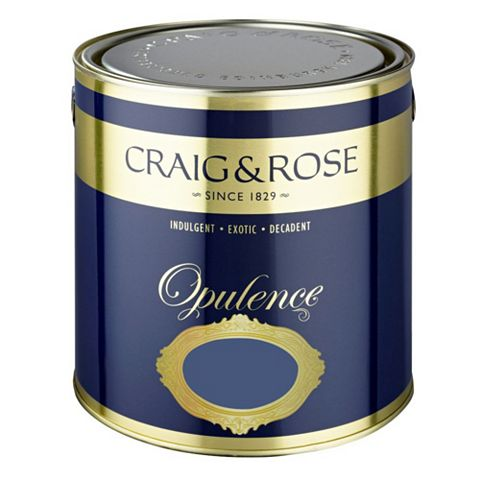 Craig & Rose Opulence Regal Blue Matt Emulsion Paint 2.5L