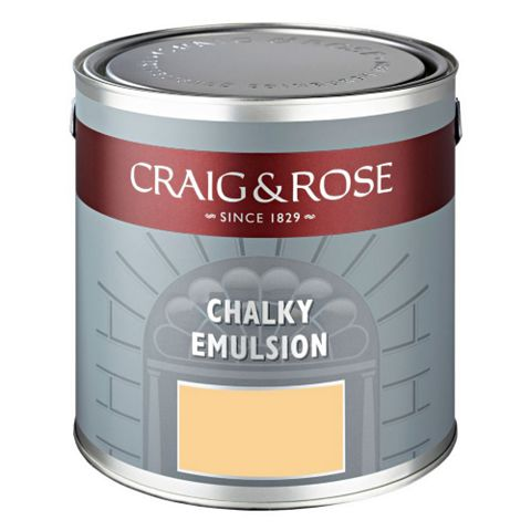 Craig & Rose Authentic Period Colours Jasper Cane Flat Matt Emulsion Paint 2.5L