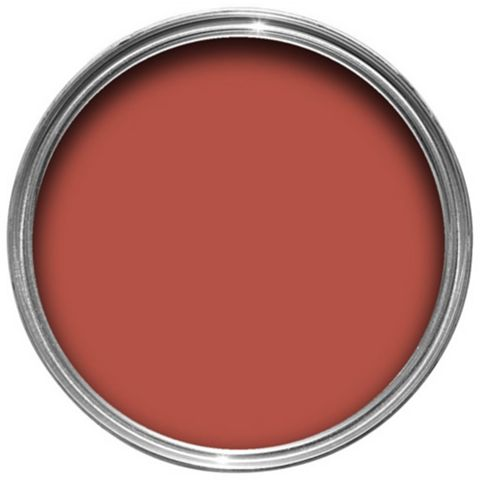 Craig & Rose Authentic Period Colours Oriental Red Matt Emulsion Paint 2.5L