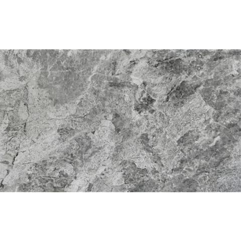 Haver Travertine Storm Stone Effect Plain Ceramic Wall & Floor Tile, Pack of 6, (L)298mm (W)498mm