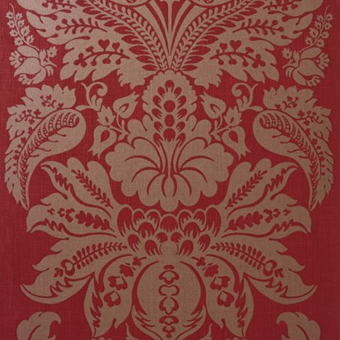 Napoli Grand Damask Glitter Wallpaper
