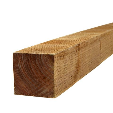 BSW Timber Fence Post, 75mm x 1.8m